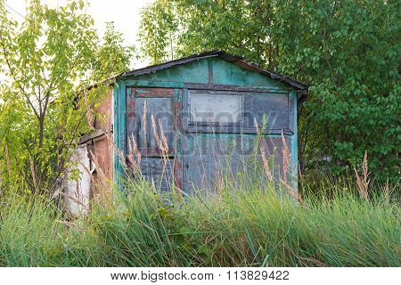 Abandoned Garden House.