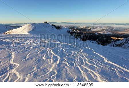 Poland Tatras At Winter - Kasprowy Wierch