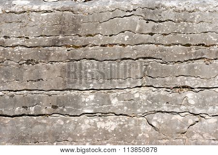Background Of Layered Rock