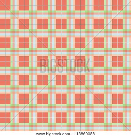 Summer Plaid Pattern