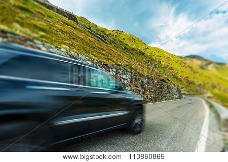 Mountain Road Driving