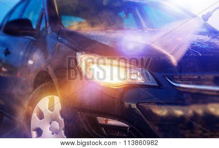 Water Car Washing