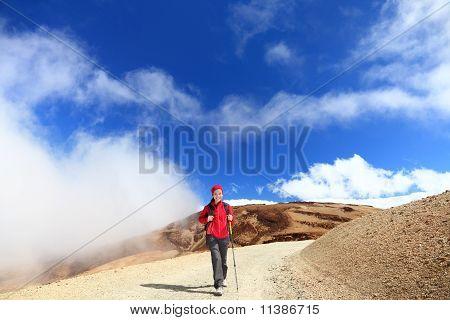 Hiking In Clouds