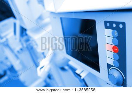 Monitor Of Hi-tech Computer