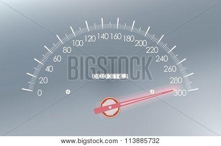 Maximum Speed On The Speedometer