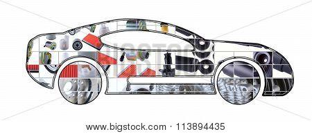 Image of sport car