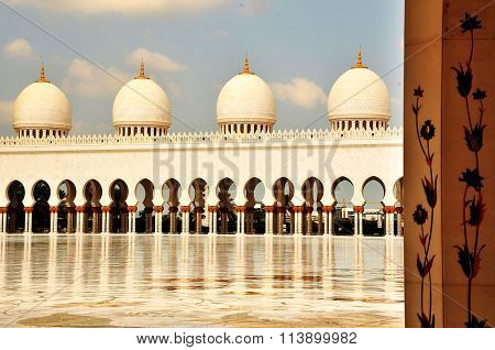 Domes - Grand Mosque Abu Dhabi