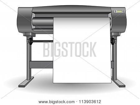 Plotter Inkjet Printer Ploter