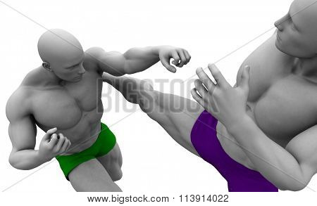 Mixed Martial Arts Training and Sparring Course