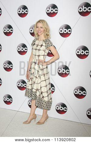 LOS ANGELES - JAN 9:  Johanna Brady at the Disney ABC TV 2016 TCA Party at the The Langham Huntington Hotel on January 9, 2016 in Pasadena, CA