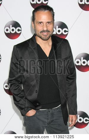 LOS ANGELES - JAN 9:  Maurice Bernard at the Disney ABC TV 2016 TCA Party at the The Langham Huntington Hotel on January 9, 2016 in Pasadena, CA