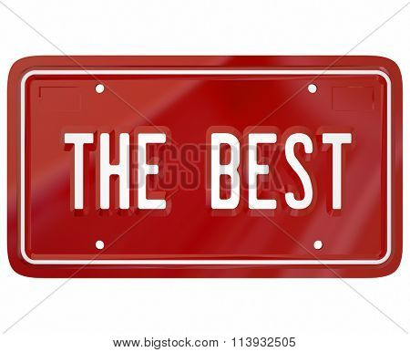 The Best words on a red vanity license plate to illustrate pride in driving top reviewed or rated automobile, cars or vehicles