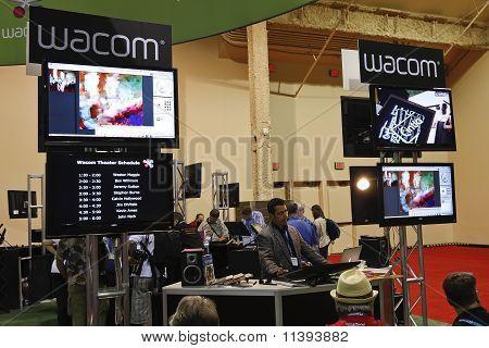 Wacom At Photoshop World Conference & Expo