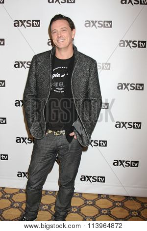 LOS ANGELES - JAN 8:  Donovan Leitch at the AXS TV Winter 2016 TCA Cocktail Party at the The Langham Huntington Hotel on January 8, 2016 in Pasadena, CA