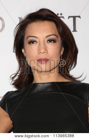 LOS ANGELES - JAN 7:  Ming-Na Wen at the Mark Zunino Atelier Opening at the Mark Zunino Atelier Boutique on January 7, 2016 in Beverly Hills, CA