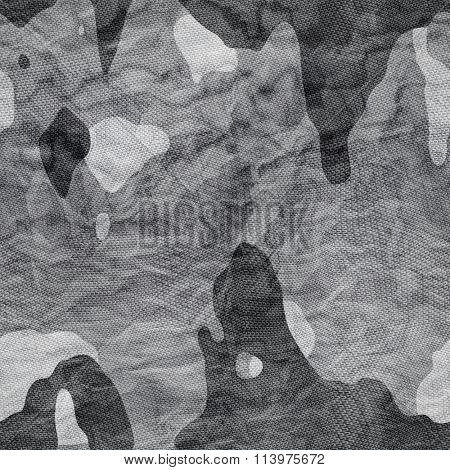 Camouflage fabric Seamless texture