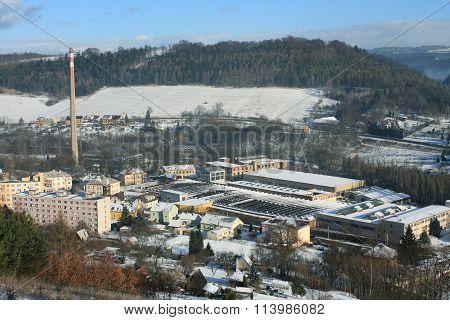 Oskar Schindler´s Factory In  Brnenec