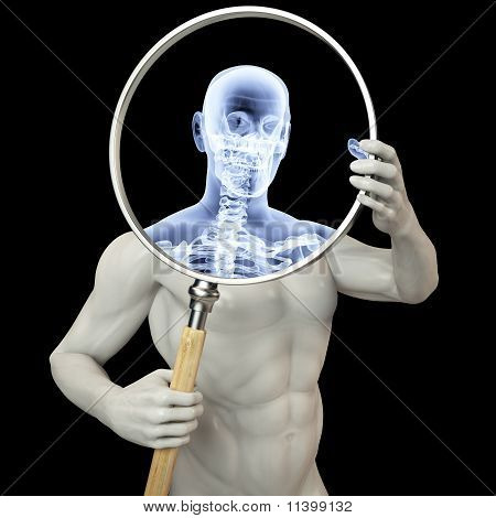 Magnifier X-ray