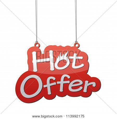 Hot Offer Background