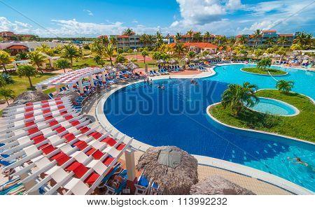 Tourism grows, despite economy, resorts flourish in Varadero, Cuba.