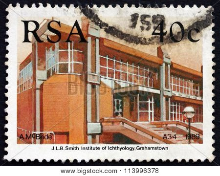 Postage Stamp South Africa 1989 Smith Institute Of Ichthyology,