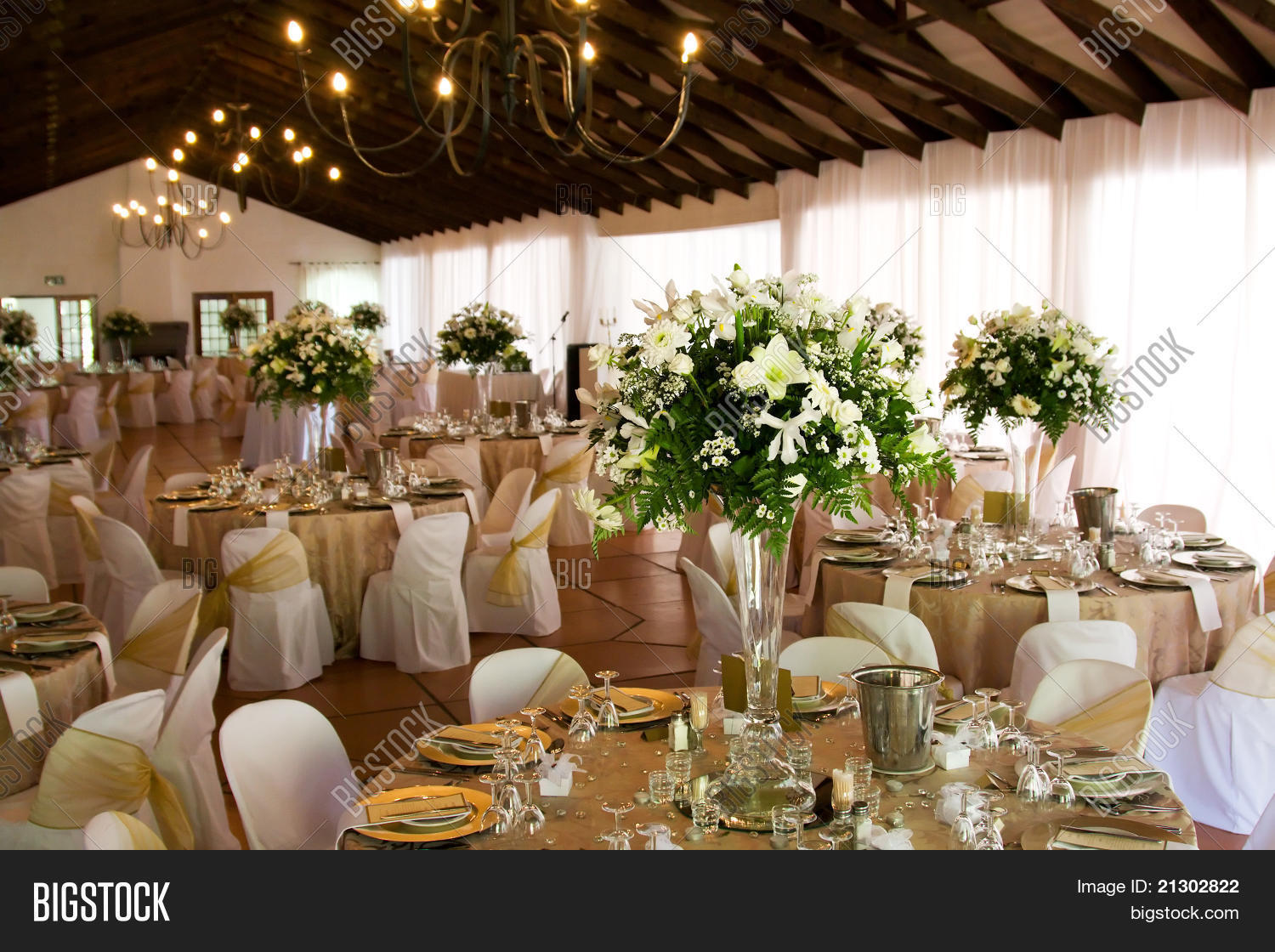 Indoors Wedding Image Photo Free Trial Bigstock