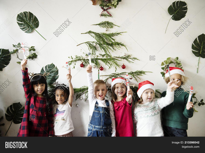Cheerful Diverse Kids Image & Photo (Free Trial) | Bigstock