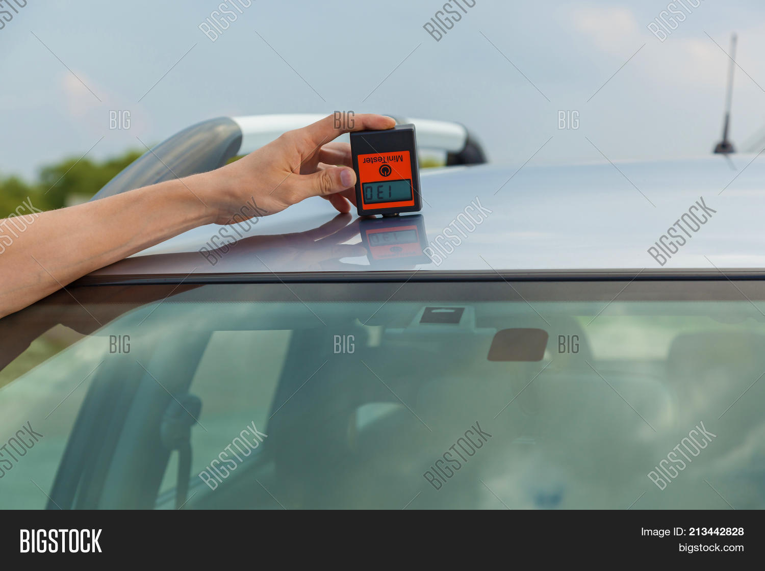 Checking Body Roof Car Image & Photo (Free Trial) | Bigstock