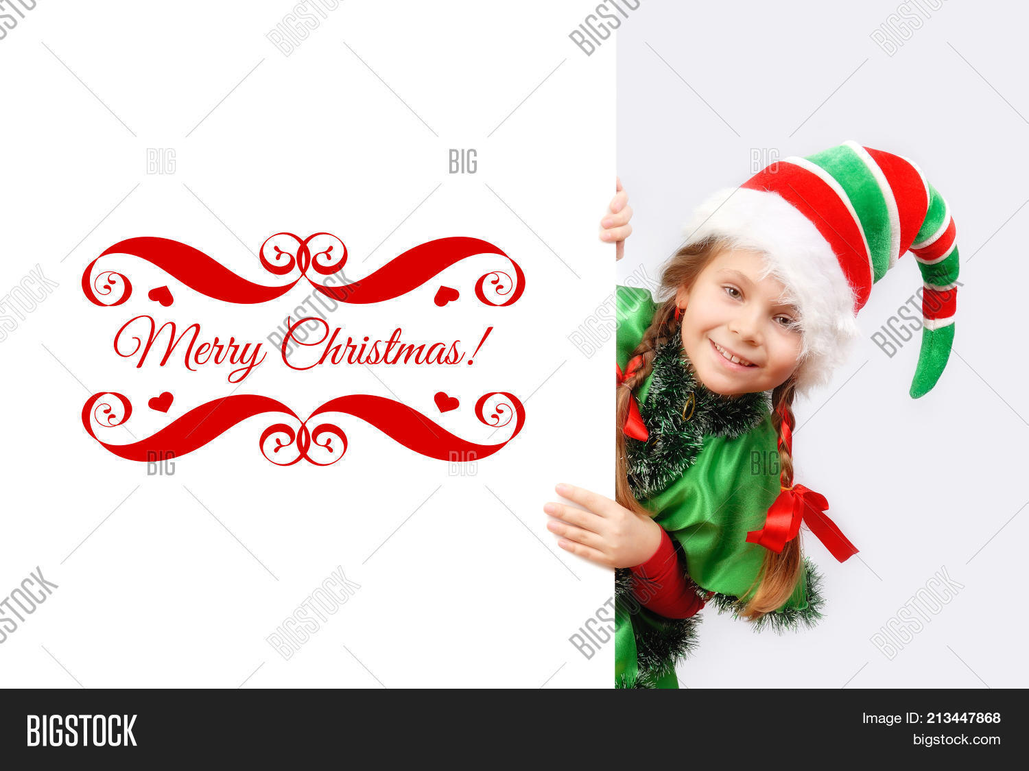 Girl Suit Christmas Image & Photo (Free Trial) | Bigstock