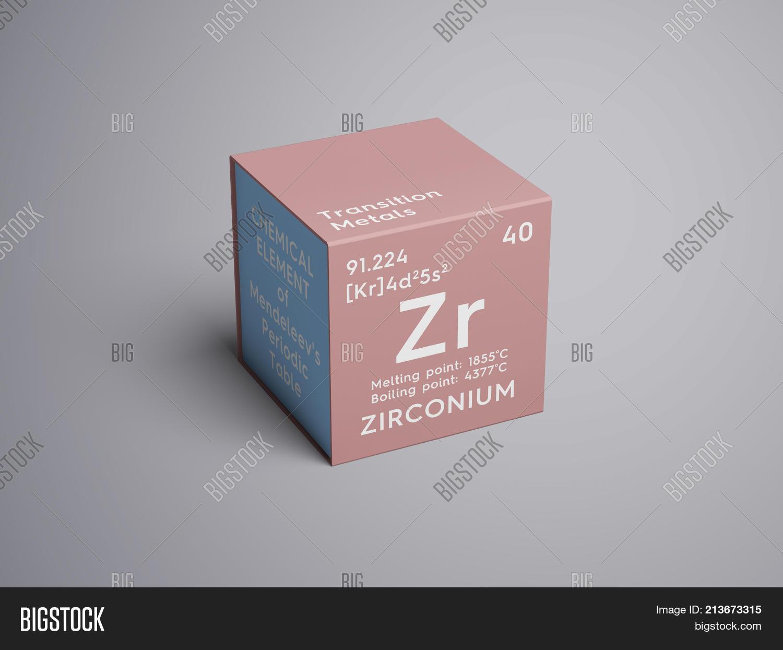 Zirconium transition metals image photo bigstock zirconium transition metals chemical element of mendeleevs periodic table 3d illustration urtaz Images