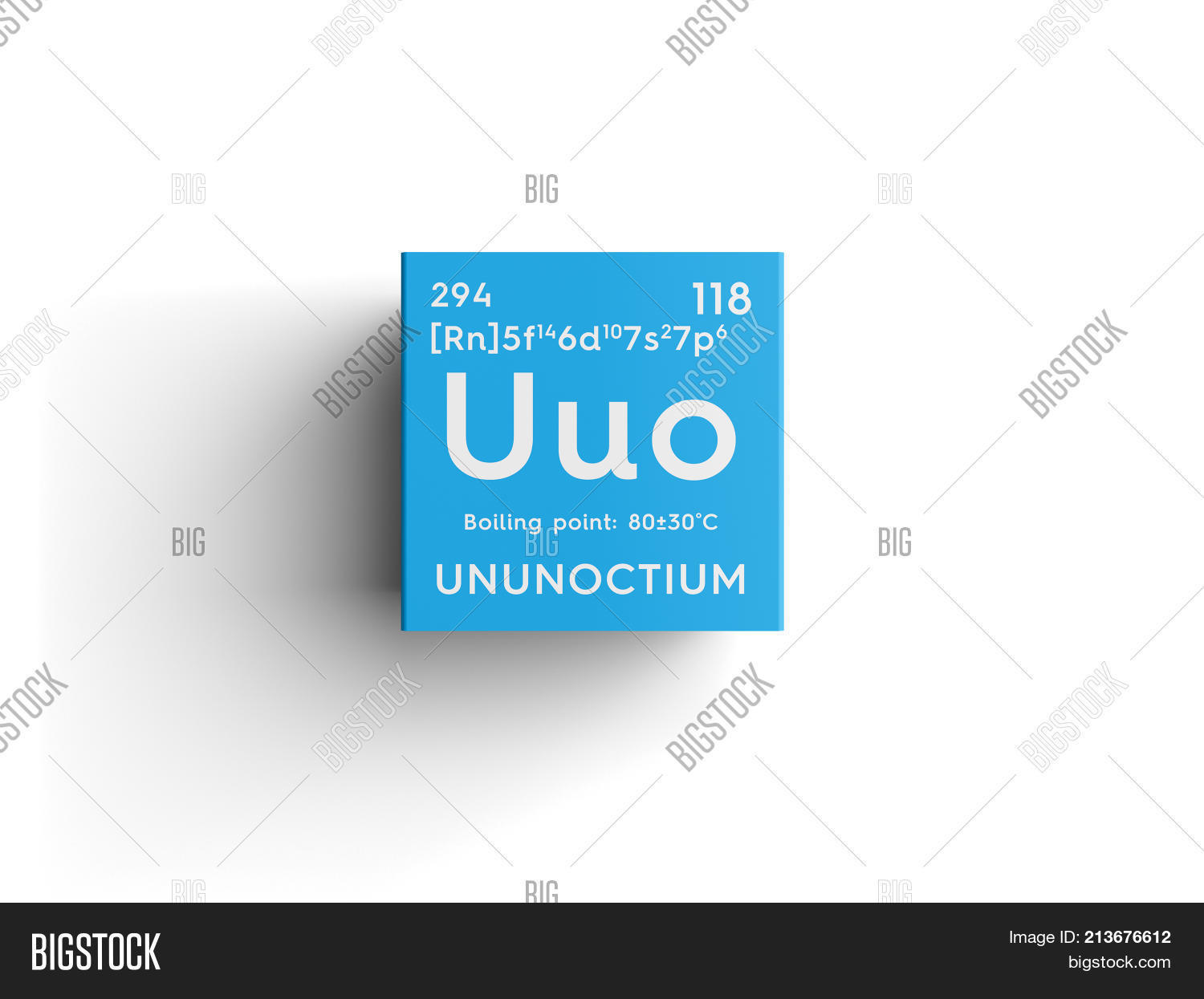 Ununoctium noble gases chemical image photo bigstock ununoctium noble gases chemical element of mendeleevs periodic table 3d illustration urtaz Images