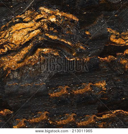 Close up of detailed seamless red marble stone texture. Seamless square background, tile ready. High resolution photo.