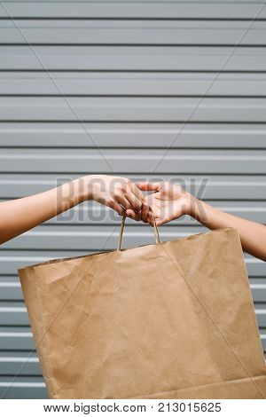 Shopping sale lifestyle store fashion concept. buyer-seller relationship. next purchase