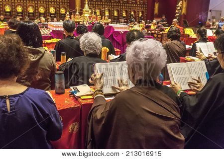 Tooth Relic Temple In Singapore.