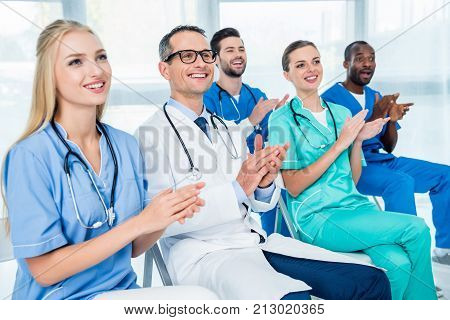 Doctors Listening To Lecture