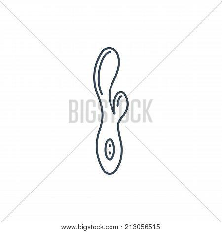 The Linear Vector Icon The Vibrator
