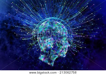 Artificial Intelligence And Idea Concept