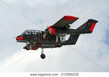 Rockwell Ov-10 Bronco Aircraft