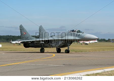 Hungarian Air Force Mig-29 Fulcrum Fighter Jet