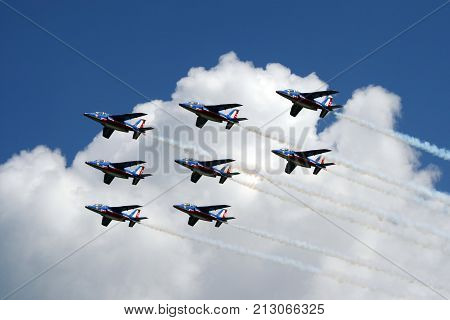 French National Airshow Team Patrouille De France
