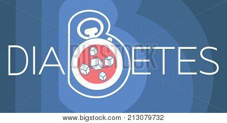 Banner Of Diabetes Diagnosis