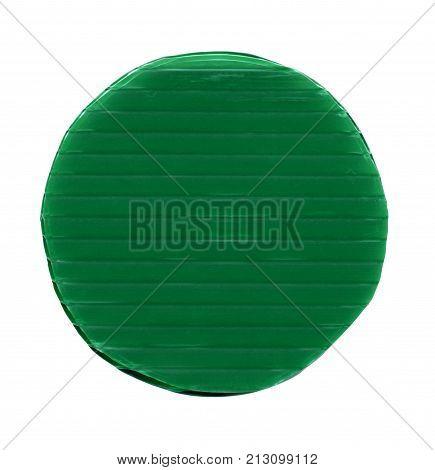 Green Plastic Token Money