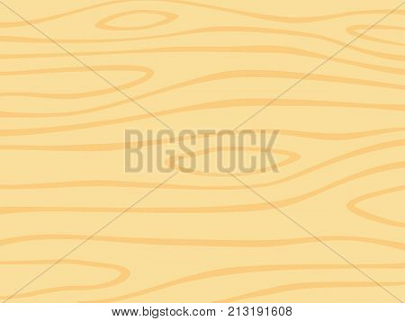 Wood grain texture background. Wooden board.  Vector illustration.