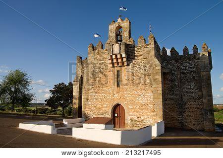 Sanctuary Of Senhora Da Boa-nova, A Fortified Church