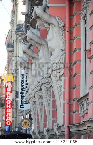 Beloselsky-belozersky Palace - St. Petersburg, Russia