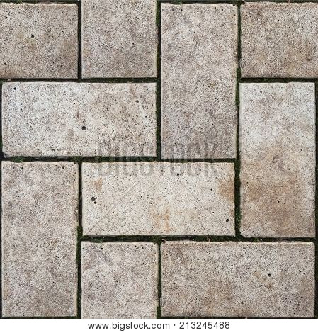 Abstract seamless pattern for designers with stone pavement