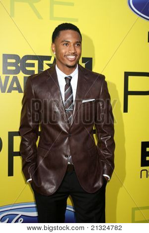 LOS ANGELES - JUN 25:  Trey Songz arriving at the 5th Annual Pre-BET Dinner at Book Bindery on June 25, 2004 in Beverly Hills, CA