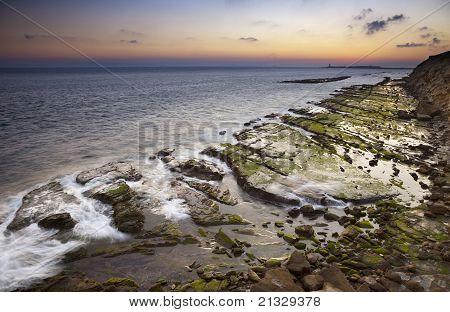 Sunset On The Coast Of Tarifa