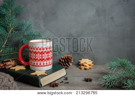 Winter Coffee And Cookies