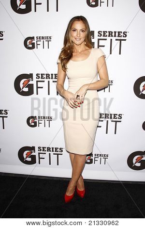 LOS ANGELES - APR 12:  Minka Kelly at the 'Gatorade G Series Fit Launch Event' at the SLS Hotel in Los Angeles, California on April 12, 2011.